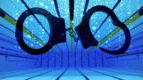 London, 2012. február 22.Az 50 méteres medence a 2012-es londoni nyári olimpia egyik helyszínén, a Vízisportközpontban, amely a brit főváros keleti negyedében, Stratforban létesült. (MTI/EPA/Andy Rain)