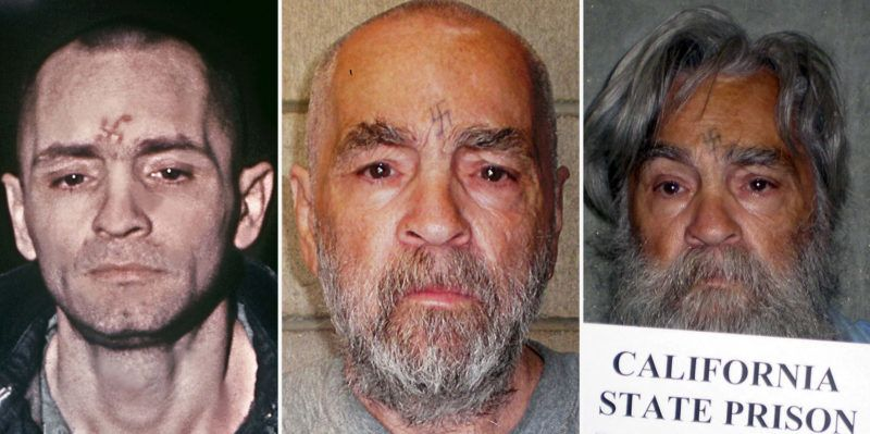 Corcoran, 2017. november 20.A kaliforniai büntetés-végrehajtási hivatal (CDCR) által közreadott kép az életfogytiglani szabadságvesztésre ítélt Charles Manson amerikai sorozatgyilkosról a kaliforniai Corcoran állami fegyintézetében 2011. június 16-án. Manson 2017. november 19-én 83 éves korában elhunyt a kaliforniai Kern megye egyik kórházában. Az intézet szerint természetes halált halt. (MTI/EPA/CDCR)