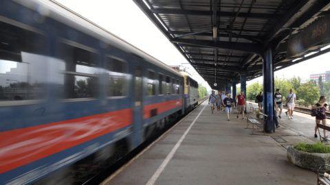 Budapest, 2019. augusztus 26. Peron a MÁV 50 megújuló állomás elnevezésû programja keretében felújítás alatt álló Kõbánya alsó megállóhelyen 2019. augusztus 26-án. MTI/Máthé Zoltán