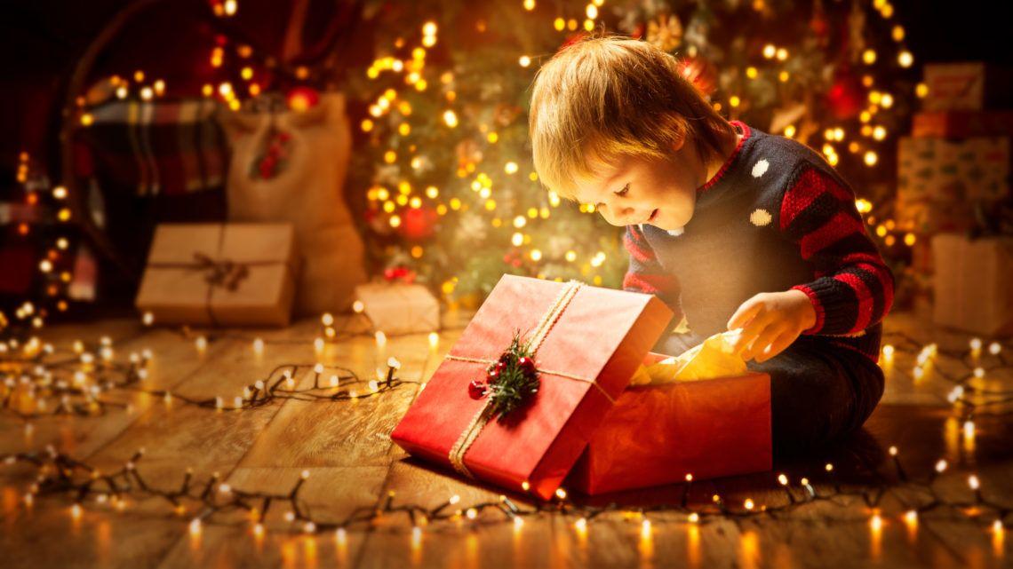 Gyermeki karácsonyi öröm