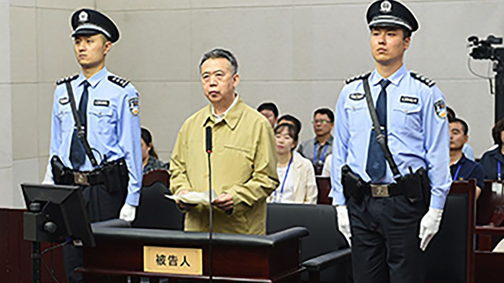 13 év börtönt kapott Kínában az Interpol volt vezetője
