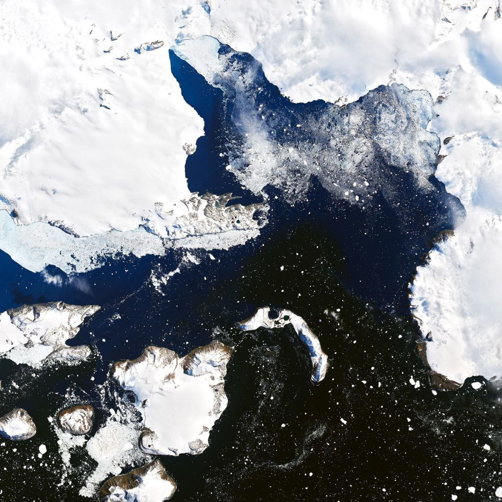 Félelmetes képeken az Antarktisz olvadása 1