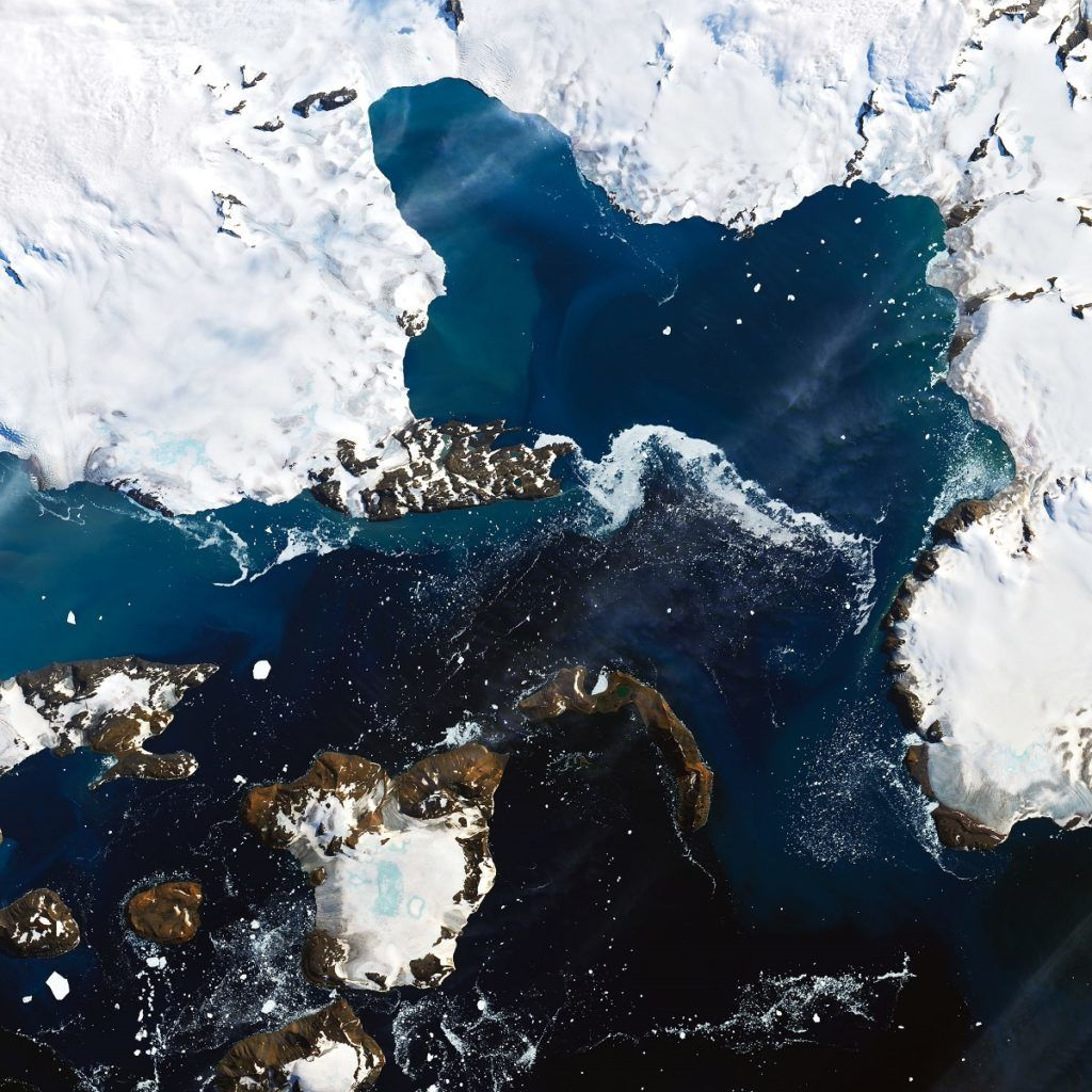 Félelmetes képeken az Antarktisz olvadása 2