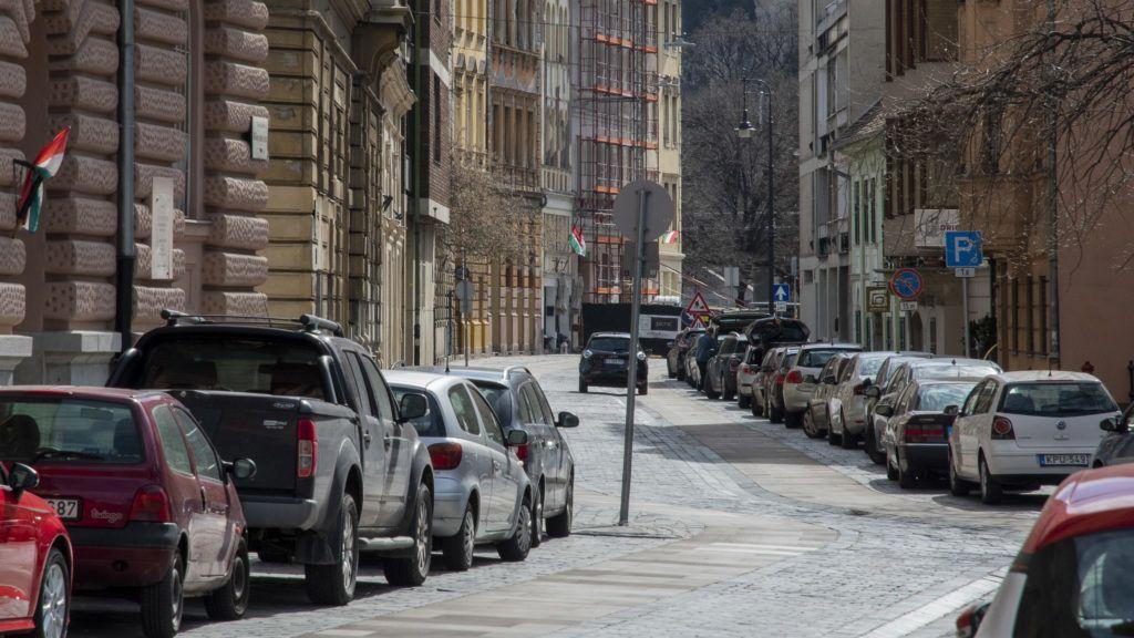 Megnőtt az autósforgalom Budapest belvárosában