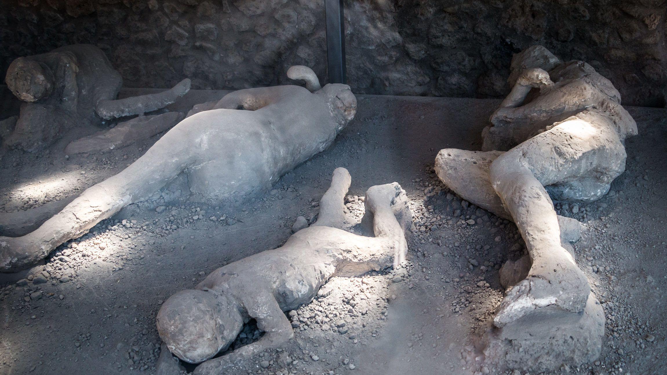 Ma is látni, mit érezhettek Pompeii lakói a haláluk pillanatában | 24.hu