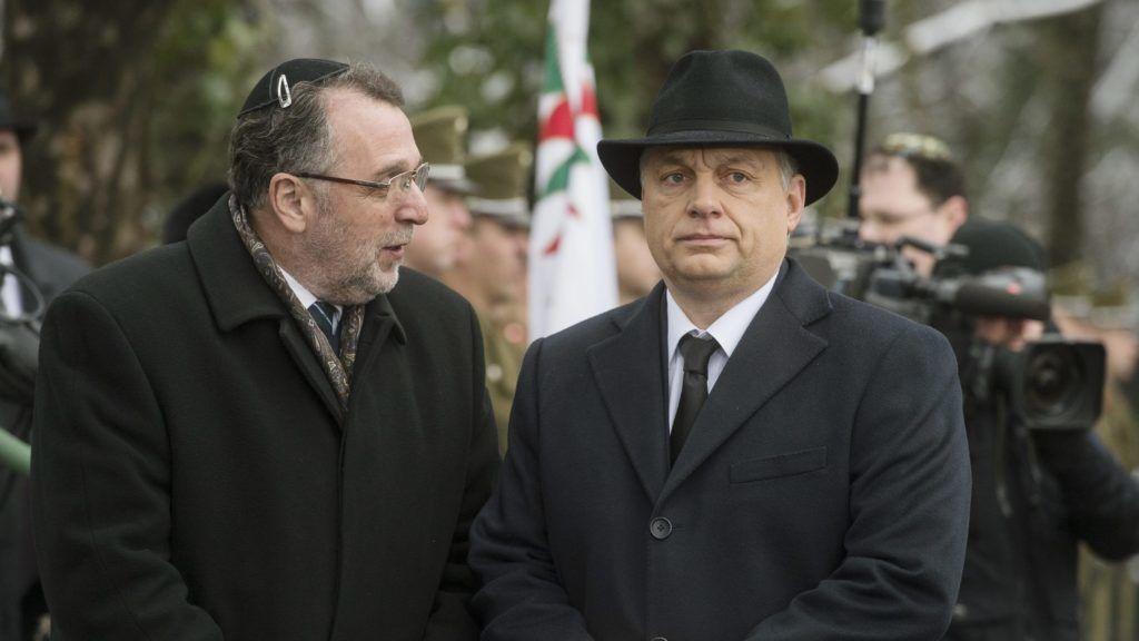 A kormánylap betámadta a Mazsihisz elnökét, mert nem őszinte kormánybarát