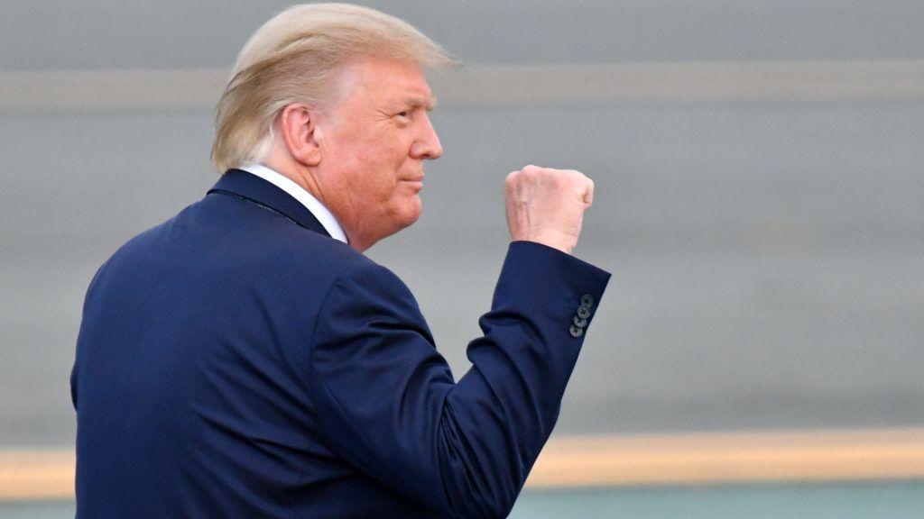 Nobel-békedíjra jelölték Donald Trumpot