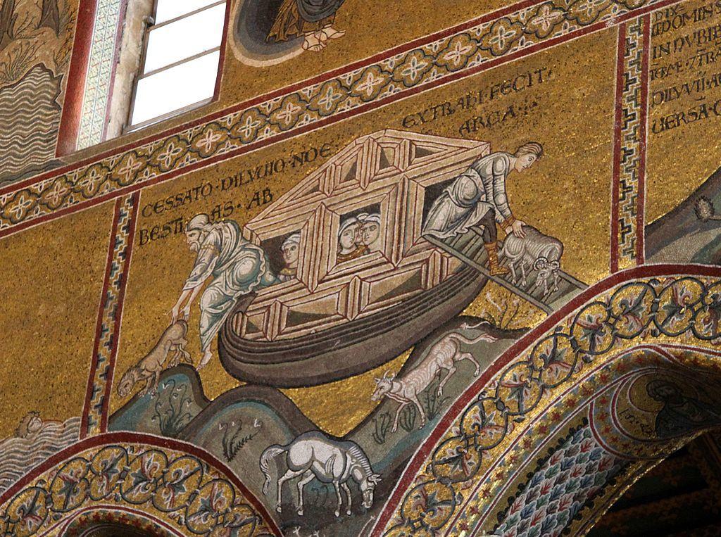 Albínó volt az özönvízet bárkájával túlélő Noé?