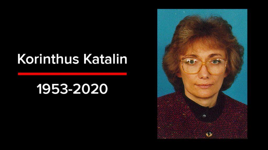 Meghalt Korinthus Katalin