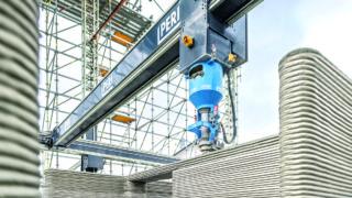 3d beton nyomtatás