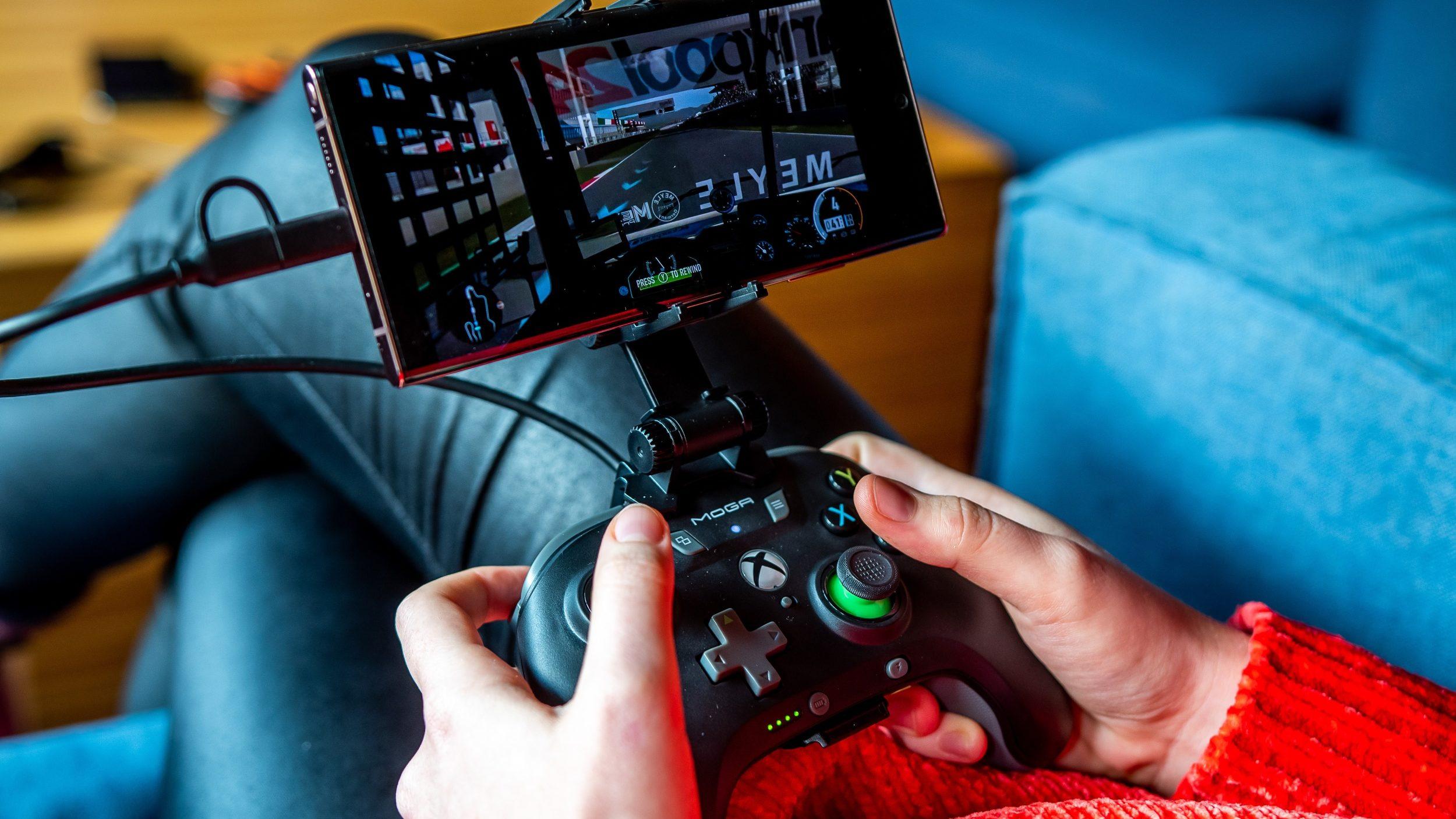 PowerA Moga kontroller és Xbox Game Pass