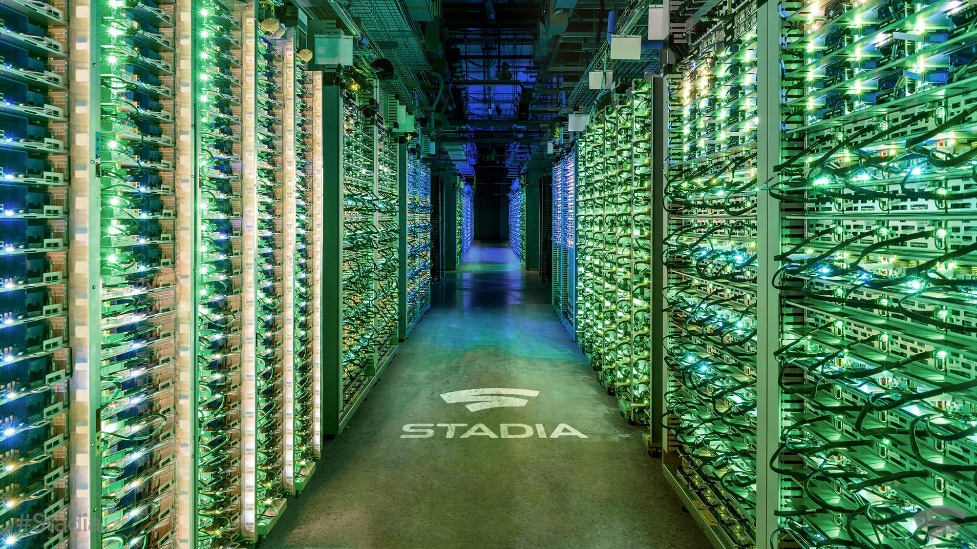google adatközpont