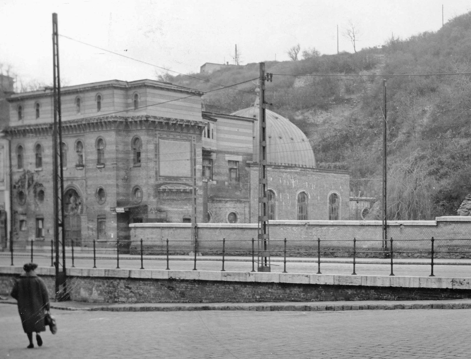 Az épület állapota 1961-ben