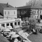 A bisztró képe 1962-ben, egy évvel a megnyitás után.
