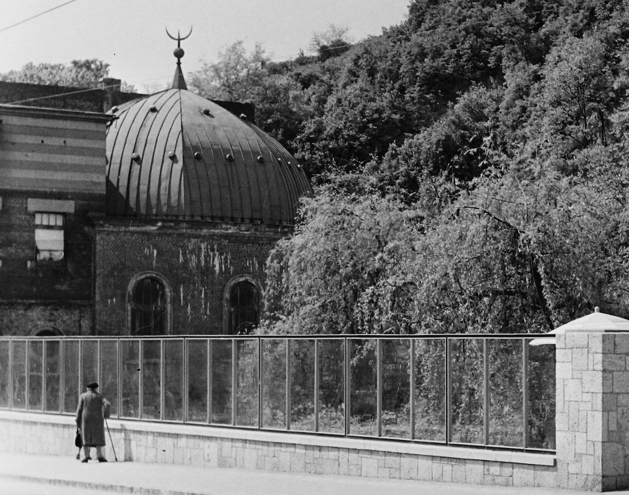 Az egykori Népgőzfürdő képe 1962-ben.