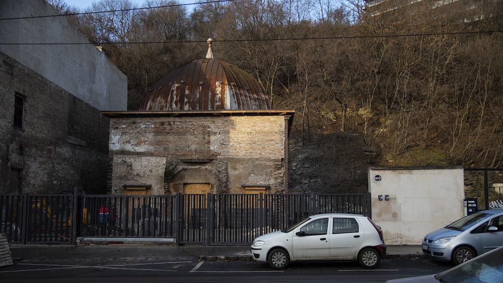 Az egykori Népgőzfürdő megmaradt része