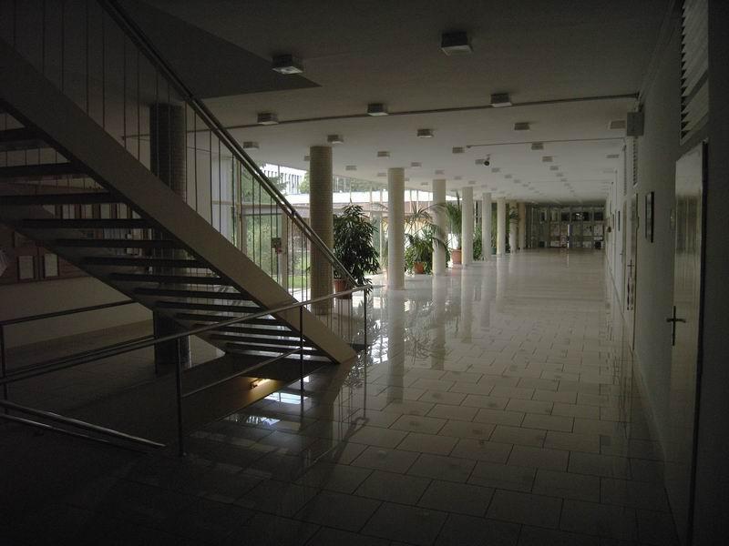 A belső tér részlete.
