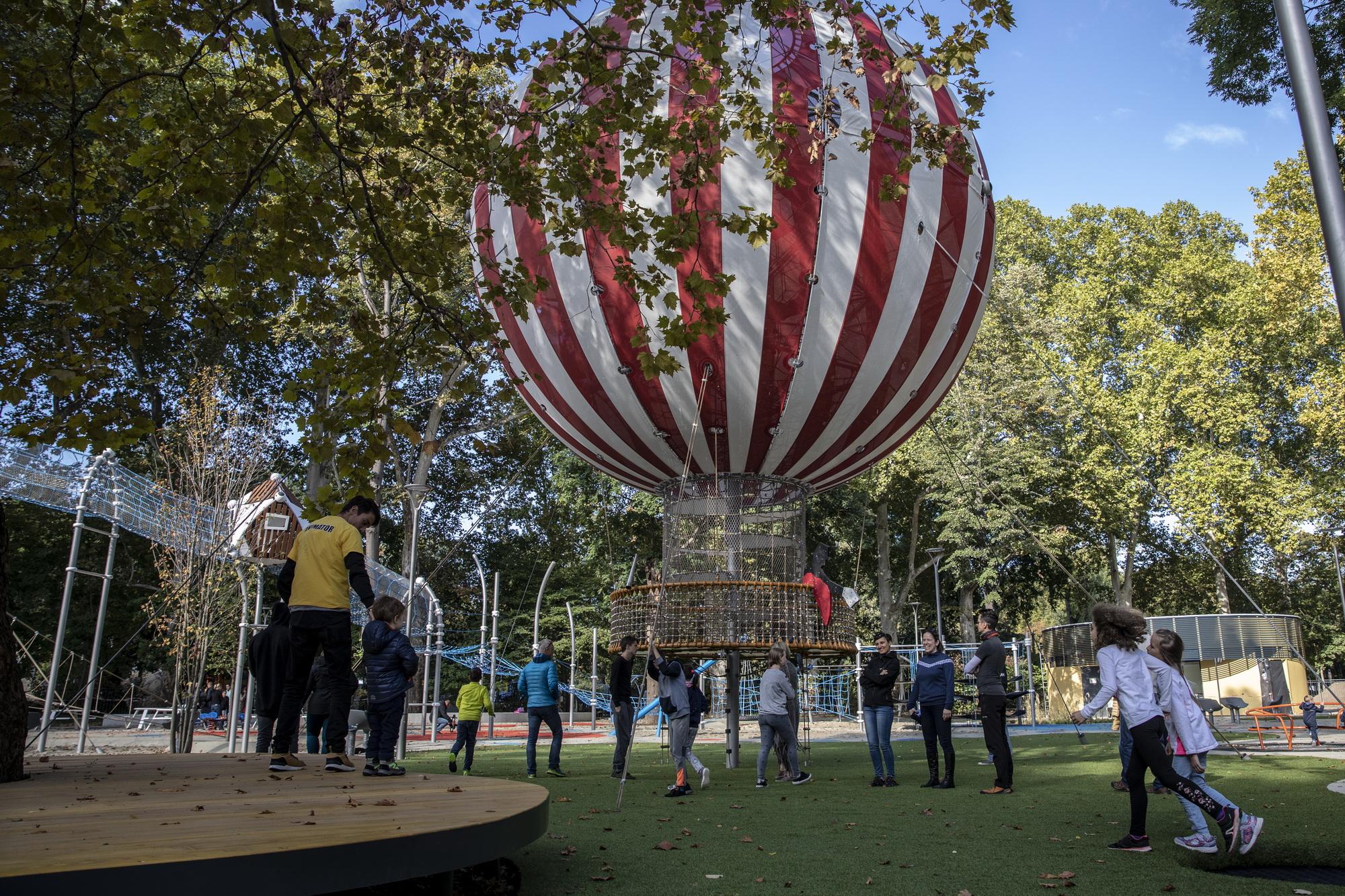 A 2019. október 26-án átadott Városligeti Nagyjátszótér ballonja