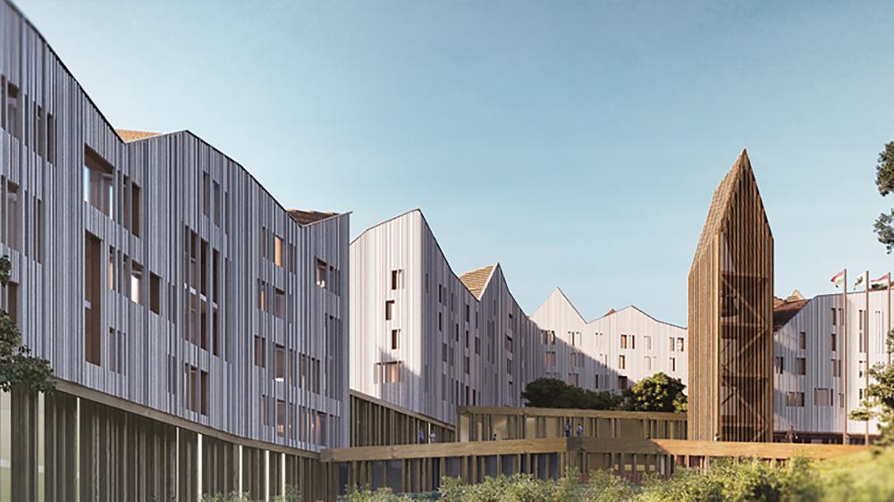 Már be is lehet költözni Németország első 3D beton nyomtatással készült házába