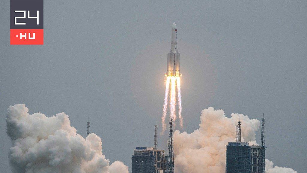 Becsapódott a kínai rakéta