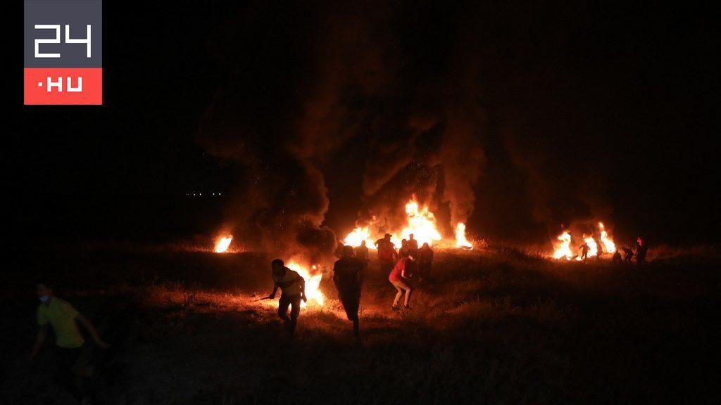 Izrael bombázta a gázai övezetet