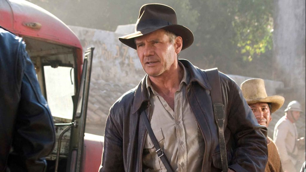 Harrison Ford már Indiana Jones-szerelésben forgat