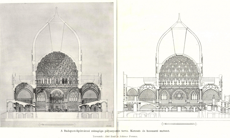 A Nagykörút közelében állhatott volna a világ legnagyobb zsinagógája