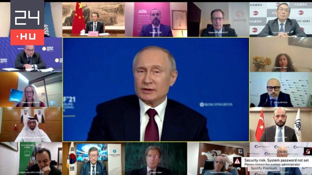 Putyin parazitának nevezte az USA t