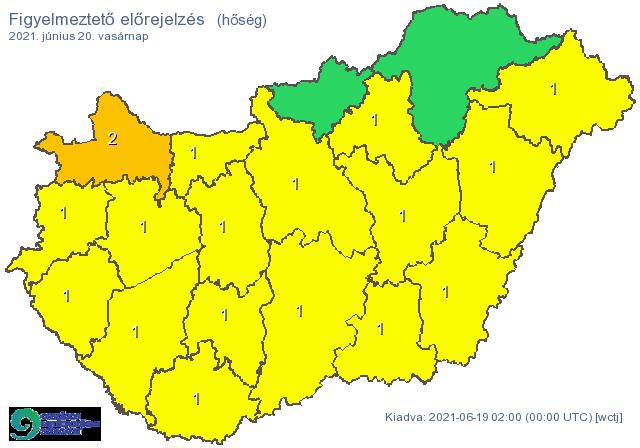 Életbe lépett a hőségriasztás, besárgult az ország | 24.hu