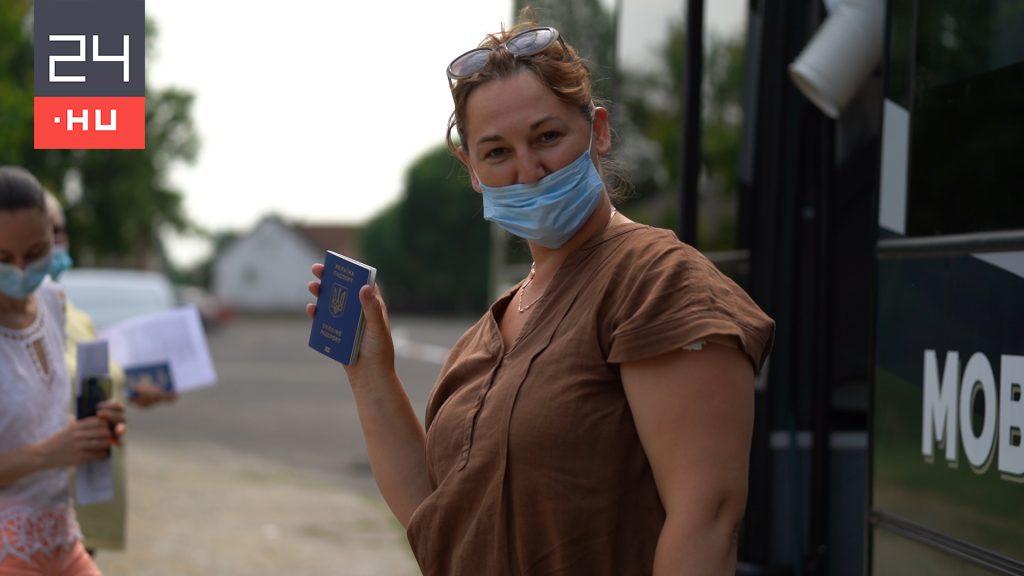 Naponta kétszázan jönnek Ukrajnából oltatni