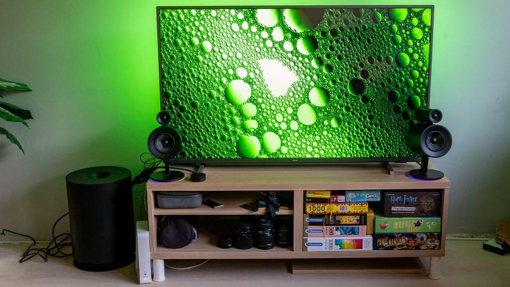 Asztali géphez és tévéhez is jó a Razer 2.1-es hangrendszere
