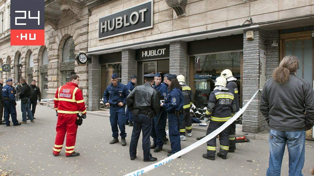 Hét év nemzetközi hajsza után elfogták az Andrássy úti luxusóraszalon két brutális rablóját - 24.hu
