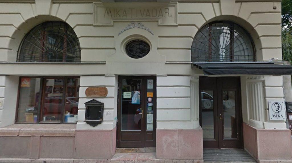 Mika Tivadar Mulató, bezár