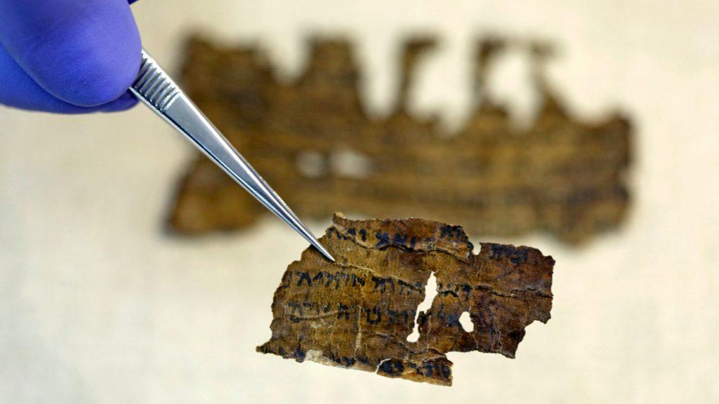 Megfejthették a holt-tengeri tekercsek egy titkát