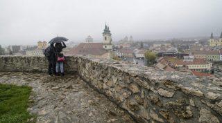 Eger, 2015. október 17. Az egri vár 2015. október 17-én, a vár napján. MTI Fotó: Komka Péter
