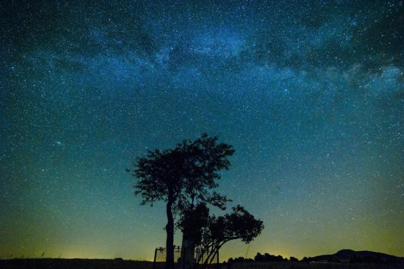 Salgótarján, 2015. június 21. A Tejút az égbolton Salgótarján közelébõl fotózva 2015. június 20-án. MTI Fotó: Komka Péter