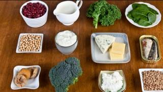Food sources of calcium