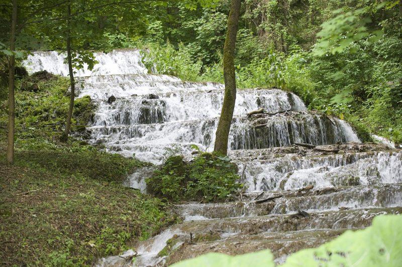 Szilvásvárad, 2010. június 26. A Fátyol-vízesés a Bükki Nemzeti Parkban található Szalajka-völgyben. MTI Fotó: Czimbal Gyula