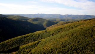 Bükkzsérc, 2011. október 1. A Bükk hegység részlete a Borsod-Abaúj-Zemplén megyei Bükkzsérc közelében. MTI Fotó: H. Szabó Sándor