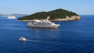 Dubrovnik (Horvátország), 2014. augusztus 1. Utasszállító hajók úsznak az Adriai-tengeren Lokrum szigetének térségében, Dubrovnik közelében. MTVA/Bizományosi: Jászai Csaba  *************************** Kedves Felhasználó! Az Ön által most kiválasztott fénykép nem képezi az MTI fotókiadásának, valamint az MTVA fotóarchívumának szerves részét. A kép tartalmáért és a szövegért a fotó készítõje vállalja a felelõsséget.