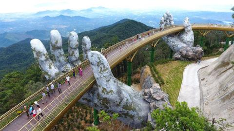 A híd, amely úgy alkot ívet, hogy csupa egyenesből áll