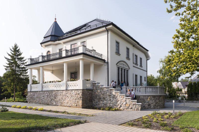 Nyíregyháza, 2018. augusztus 29. A felújított Bencs-villa Nyíregyházán 2018. augusztus 29-én. MTI Fotó: Balázs Attila