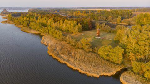 Balatonmagyaród, 2018. október 20. A Kányavári-sziget a Kis-Balatonnál Balatonmagyaród közelében 2018. október 20-án. MTI/Varga György
