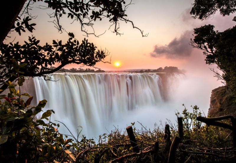Victoria Falls Sunrise