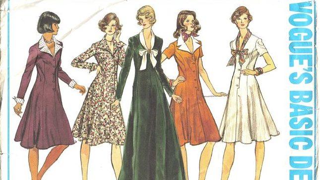Vintage ruhák 90 ezer korabeli rajzon  9a0bc91673