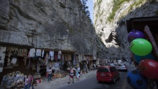 Gyergyószentmiklós, 2013. augusztus 5. A Békás-szoros a Hargita megyei Hagymás-hegységben, Gyergyószentmiklóstól 30 kilométerre 2013. augusztus 5-én. MTI Fotó: Varga György