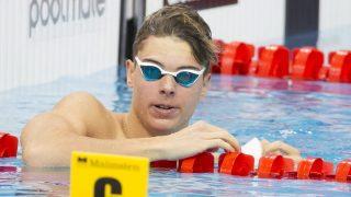 London, 2016. május 18. Horváth Dávid a 200 méteres mellúszás középdöntõjében az úszó, mûugró és szinkronúszó Európa-bajnokságon a London Aquatics Centerben 2016. május 18-án. MTI Fotó: Kovács Anikó