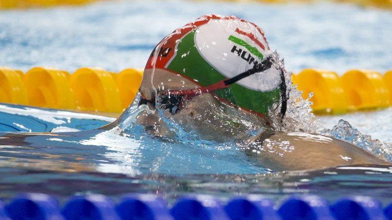 London, 2016. május 19. Sebestyén Dalma a 200 méteres mellúszás elõfutamában az úszó, mûugró és szinkronúszó Európa-bajnokságon a London Aquatics Centerben 2016. május 19-én. MTI Fotó: Kovács Anikó