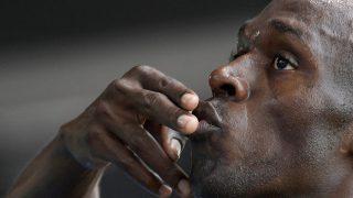 Rio de Janeiro, 2016. augusztus 16. A jamaicai Usain Bolt, miután gyõzött a Rio de Janeiró-i nyári olimpia férfi 200 méteres síkfutásának egyik elõfutamában az Olimpiai Stadionban 2016. augusztus 16-án. (MTI/AP/Martin Meissner)