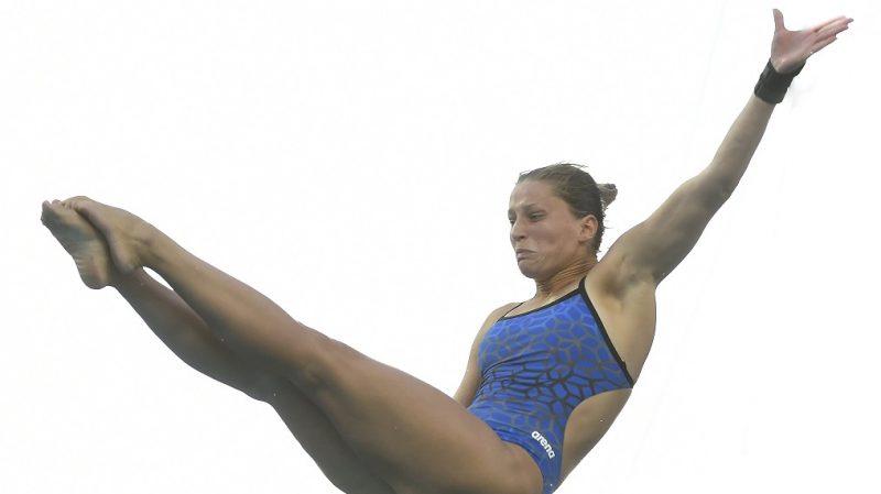 Rio de Janeiro, 2016. augusztus 17. Kormos Villõ a Rio de Janeiró-i nyári olimpia nõi toronyugrás selejtezõjének 4. körében a Maria Lenk Uszodában 2016. augusztus 17-én. MTI Fotó: Kovács Tamás